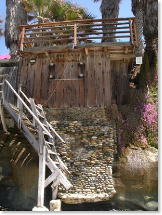 Photo_Between Grandview & Beacons my favorite private Encinitas beach stairs.